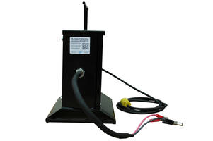 TX-1000-DC Power Transformer features elevated base platform.