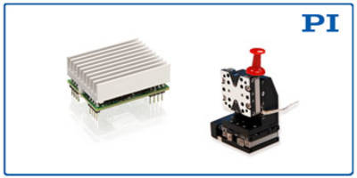E-872 Motor Driver can be controlled with TTL signals.
