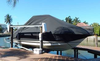 SUNSTREAM® Automatic Boat Covers are designed for boats up to 42 ft in length.