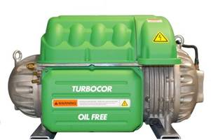 Turbocor® TG Series Compressors are equipped with intelligent controls.