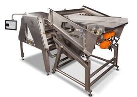 Infeed and Collection Conveyors offer soft landing to the product.