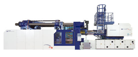 Zeres Series Molding Machines feature 15-in. color touch screen monitor.