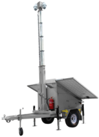 Mobile Vision Surveillance Trailers are customizable.