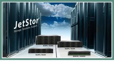 JetStor X Series Storage Systems support auto tiering and SSD caching.