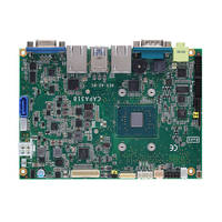 CAPA318 Embedded Motherboard features one SATA-600 socket and mSATA interface.