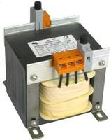 Series-JE Industrial Control Transformers feature IEC touch proof terminals.