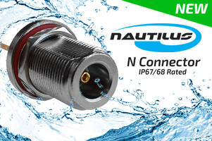 Nautilus N Connector comes with an internal sealing.