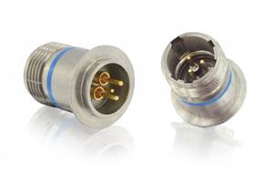 Circular Hermetic Connector features thermocouple contacts.