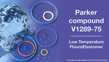 Compound V1289-75 FluoroElastomer offers methanol swell resistance.