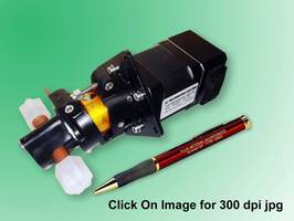 Fluid Transfer Pump features integral driver electronics.