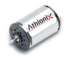 22DCT Athlonix ™ Mini Motor delivers torque up to 13.29 mNm.