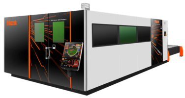 OPTIPLEX Laser-Cutting System comes with PreviewG Control digital drive package.