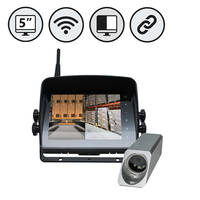 Forklift Safety System features waterproof cameras.