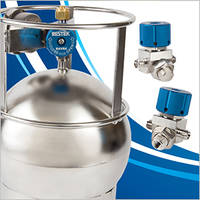 RAVE Valves offer effortless operation to air sampling canisters.