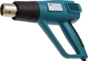 1500W Heat Gun comes with three nozzle attachments.