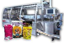 Form, Fill, Seal Machine produces up to 500 pouches/min.