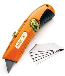 Utility Knife and Blades offer safety and comfort.