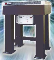 Workstation isolates translational/rotational vibration.