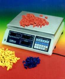 Counting Scales provide 5-digit unit weight calculation.
