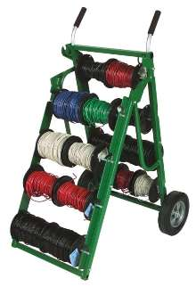 Wire Carts have spindle-locking mechanism.