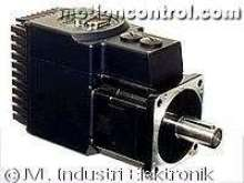 Integrated Servomotors are rated to 400 and 750 W.