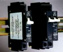 Miniature Circuit Breakers measure only 1/2 in. wide.