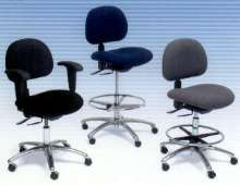 Ergonomic Chairs offer comfort while doing repetitive work.