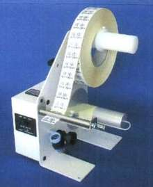 Label Dispenser utilizes opto-electronic technology.