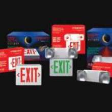 Emergency Exit Lighting and Signs are impact-resistant.