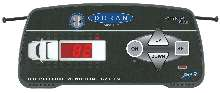 Tire Pressure Monitoring System has in-cab digital readout.