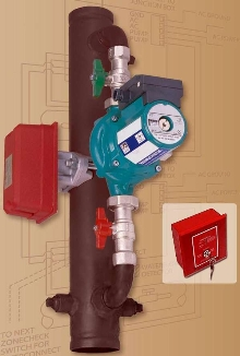 Flow-Switch Tester eliminates need to discharge water.