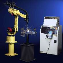 Robots integrate arc-welding package.