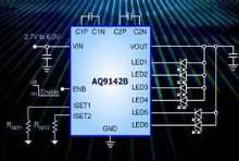 LED Driver provides 120 mA of programmable output current.