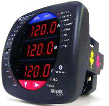 Panel Meter has multifunctional measurement capability.