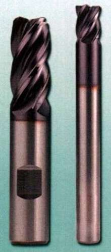 Solid Carbide End Mills feature TiAlN coating.