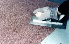 Decorative Epoxy Floor Resurfacer has non-skid formula.