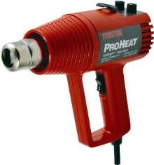 Heat Gun offers precise heat and airflow control.