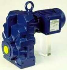 Geared Motors feature vibration-resistant housing.