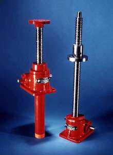 Metric Ball Screw Jacks include integral safety device.