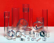 Clear PVC Pipe includes 10 and 12 in. diameters.
