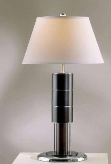 Floor and Table Lamps feature contemporary design.