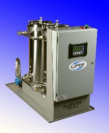 Oil Cleaning System features NEMA 4 rating.