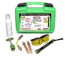 Leak Detection Kit locates leaks in cramped areas.