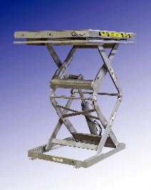 Hydraulic Lift Tables offer hot dip galvanizing option.