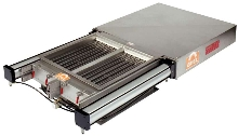 Self-Cleaning Grate In Housing enables automated operation.