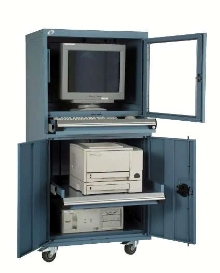 Computer Cabinet features interior reinforcements.