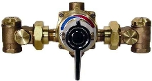 Water Mixing Valves control water temperature.