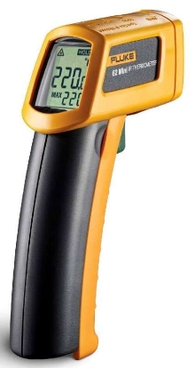 Infrared Thermometers have pistol grip design.