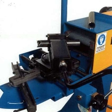 Notcher Grinder handles heavy or thin wall pipe or tubing.