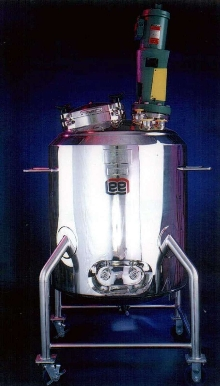 Portable Process/Transfer Tanks are designed for fluids.